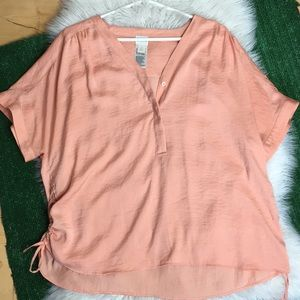 Peach Chicos Top size 3